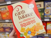 Earth Balance Cheddar Squares