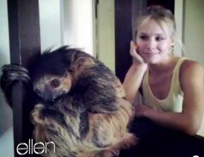 Kristen Bell on Ellen