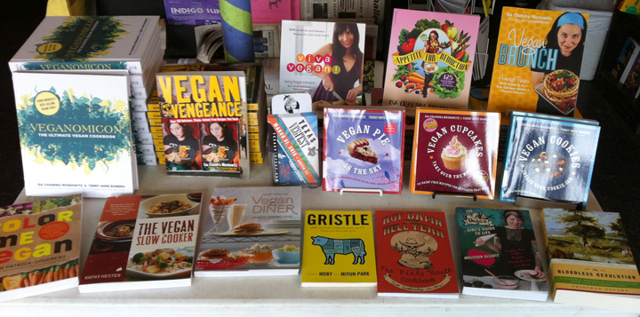 Vegan Books at MWB