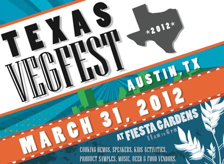 Texas VegFest Flier
