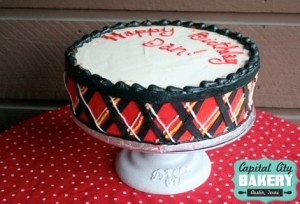 Plaid Cake
