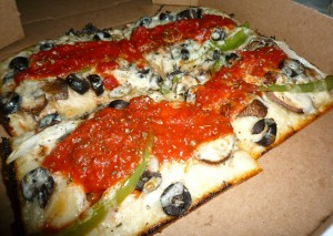 Vegan Detroit Style Pizza from VIA 313