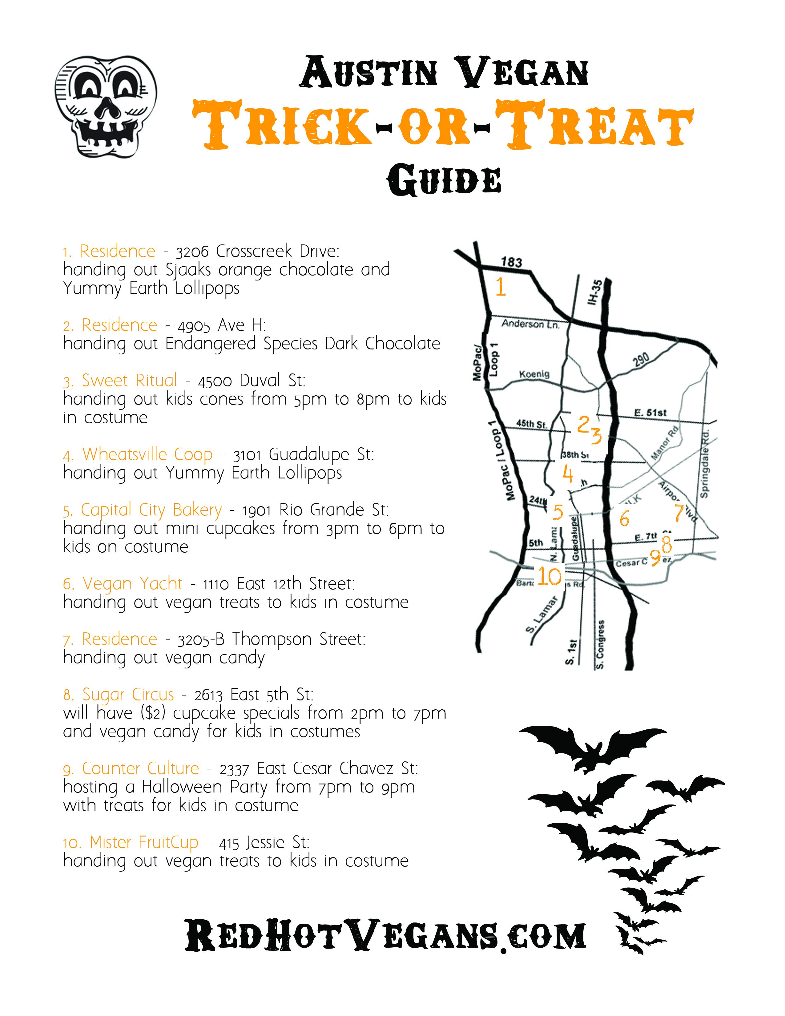 Austin Vegan Trick-or-Treat Guide