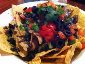 Vegan Nachos at Austin Java Tarrytown