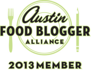 Austin Food Bloggers Alliance 2013 Member