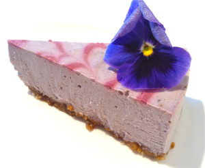 Raw Cheesecake from Beets Cafe