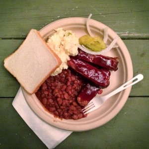 Barbeque plate from BBQ Revolution