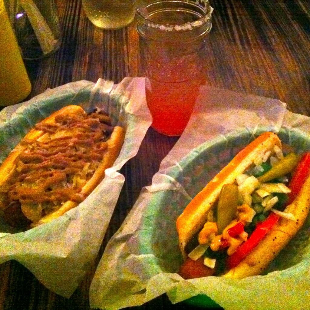 Vegan Hot Dogs at Frank