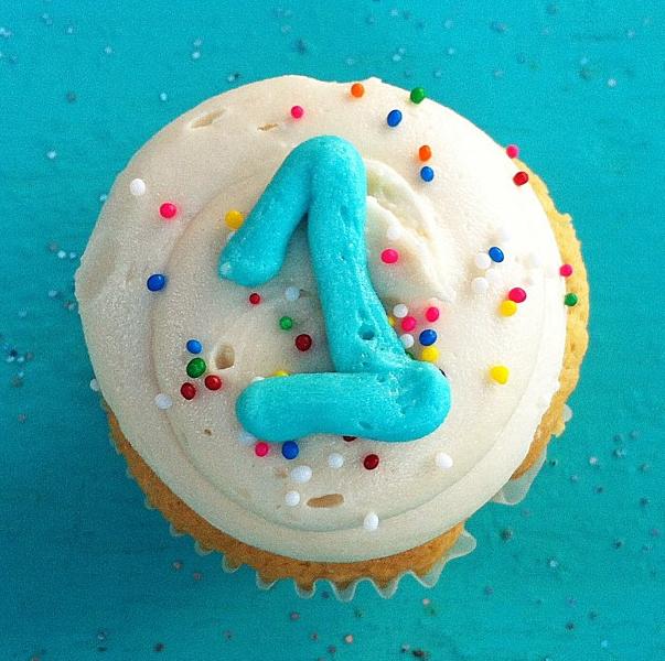 Birthday Cupcakes from Capital City Bakery