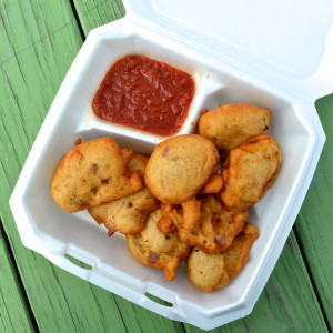 Akara with Benin sauce from Wasota African Cuisine