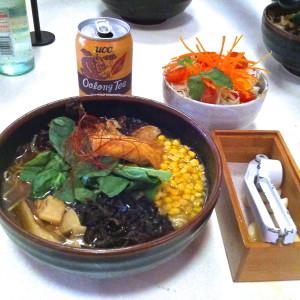 Vegan ramen from Ramen Tatsu-Ya