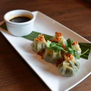 Spinach Dumpling Appetizer