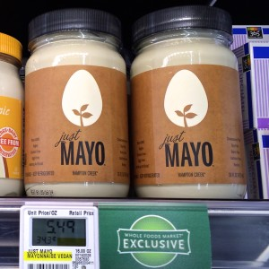 Just Mayo hits Whole Food Shelves