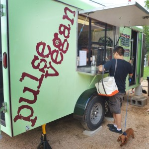 The Pulse Vegan Trailer in the South First Food Court