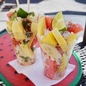 Tropical and Thai cups from Mister FruitCup