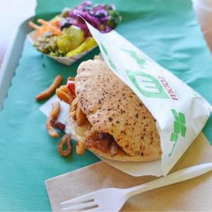 Vegan Shawarma at Maoz
