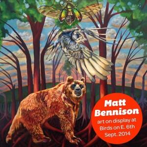 Matt Bennison at Birds Barbershop