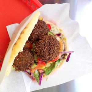 Falafel at VERTS Kebap