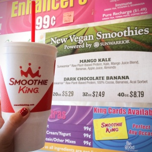 Vegan Smoothies at Smoothie King