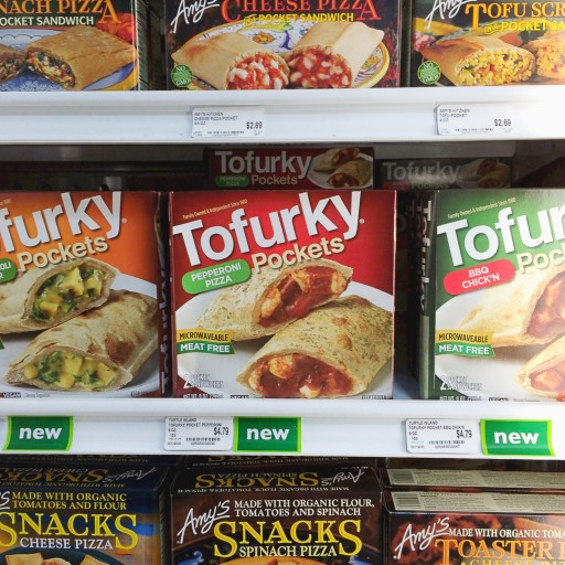 Tofurky Pockets (and quiche not shown)