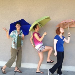 Amey's Umbrella Parade