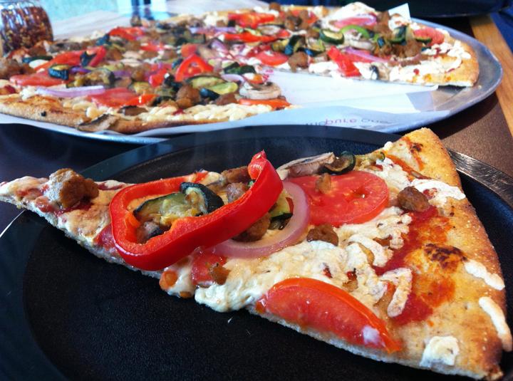 zpizza Vegan Pizza