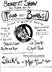 Food Not Bombs Benefit Show