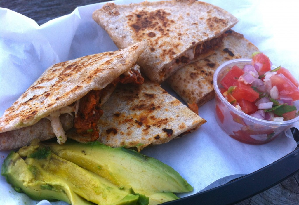 Veganized Quesadilla