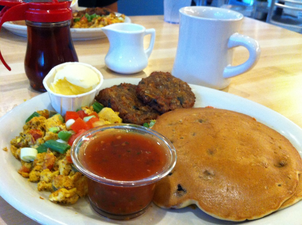Vegan Breakfast Platter at Kerbey Lane