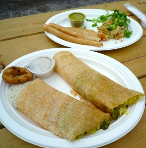 Vegan Dosa from Nomad Dosa