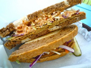 Veganized Reuben from Schmaltz