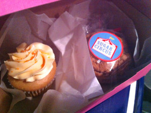 Cupcake and Cookie Sandwich from Sugar Circus