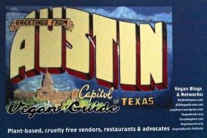 Austin Vegan Postcard
