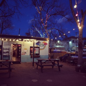 Cheer Up Charlie's, the current home of Arlo's Food Truck.