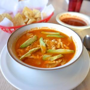 Tortilla Soup at Fountain of Health
