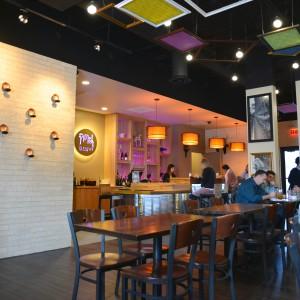 Titaya's updated seating and bar