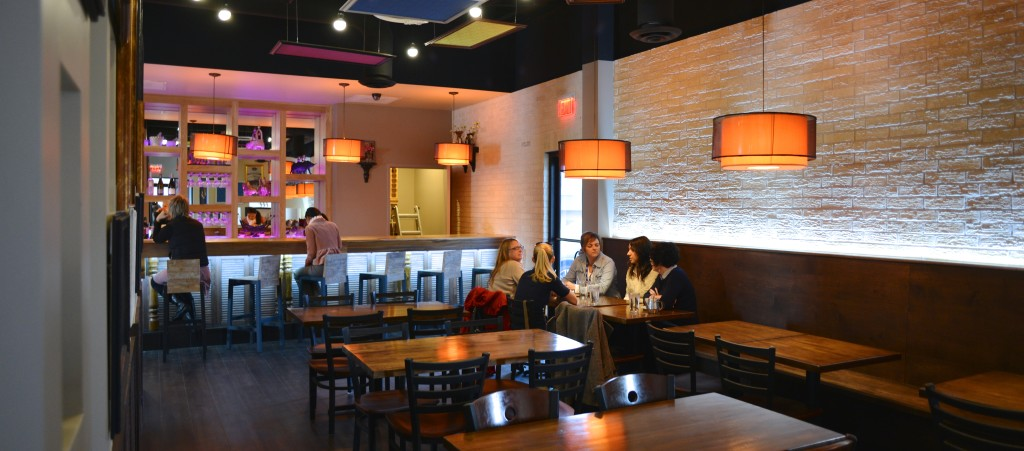 Titaya's fancy new bar and expanded seating